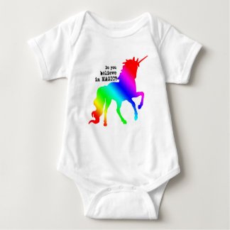 Magic Unicorn Outfit for Babies Baby Bodysuit