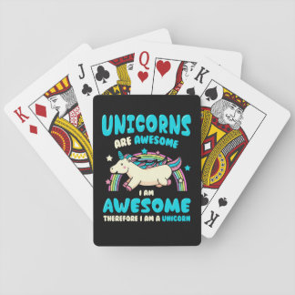 Magic Unicorn Poker Deck