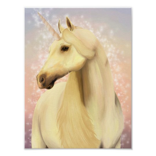 Magic Unicorn Poster