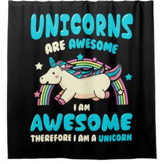 Magic Unicorn Shower Curtain