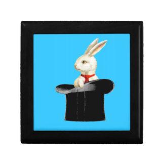 magic vintage top hat rabbit gift box