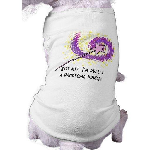 Magic Wand Dog Tee Shirt