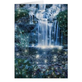 Magic Waterfall Greeting Card