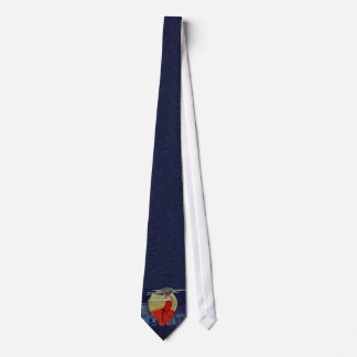 Magic Woman Floating Moon Night Sky Tie