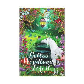 Magical Art for your Enchanted Forest Canvas Print