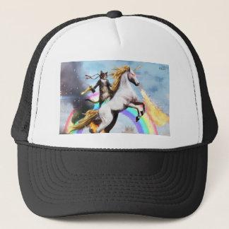 Magical Cat & Unicorn Trucker Hat