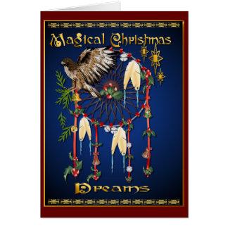 Magical Christmas Dreams Card