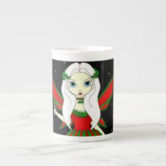 Magical Christmas Fairy Bone China Mug