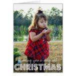 Magical Christmas Photo Holiday Card