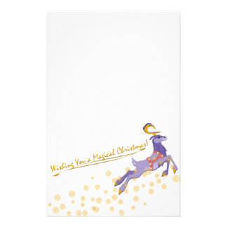 Magical Christmas Stationery