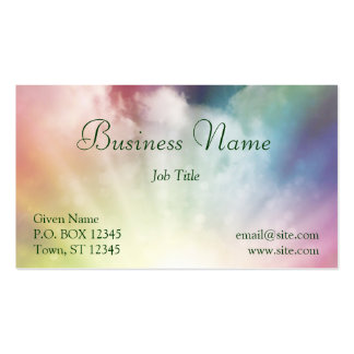 Magical Clouds Business Card