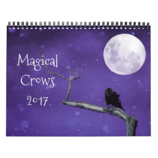 Magical Crows 2017 Calendar
