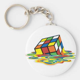 Magical cube keychain
