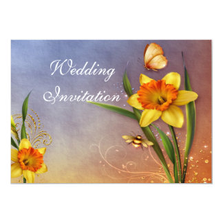 Magical Daffodils Invitation Card