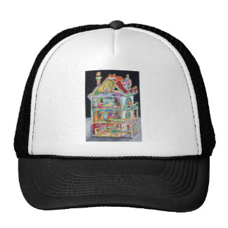 Magical Doll House Mesh Hat