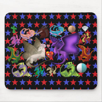 Magical Dragons Mouse Pad Star 3