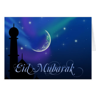 Magical Eid Night - Islamic Greeting Card