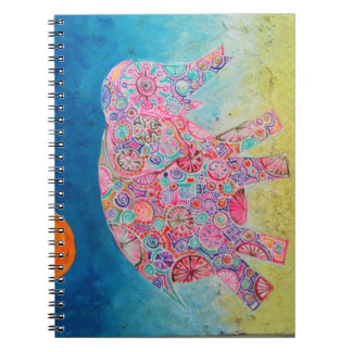 Magical elephant - Phone notebook