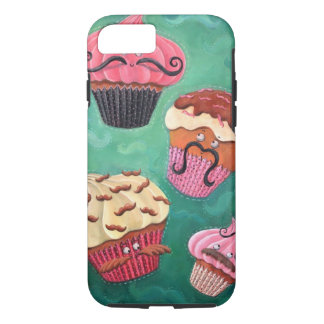 Magical Emporium of Flying Mustached Cupcakes iPhone 8/7 Case