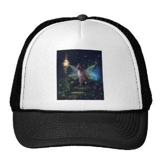 Magical Faery Kitty Mesh Hat