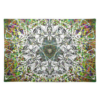 Magical Fairy Forest Pattern Placemat