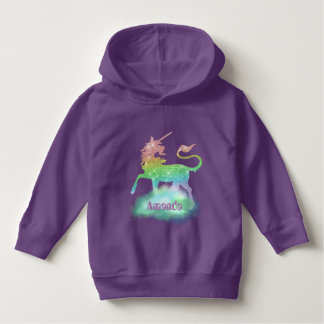 Magical Fantasy unicorn toddler girls hoodie