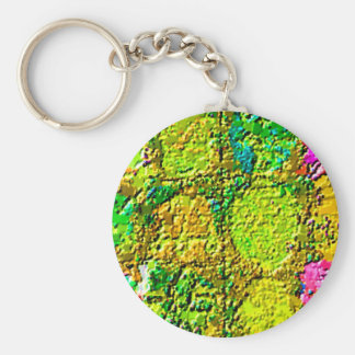 Magical Floral Crystal Healing 12 V3 Keychains