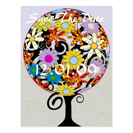 Magical Forest Circle of Love Flower Tree Wedding