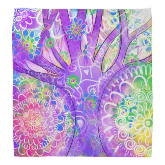 Magical Forest Mandala Bandana