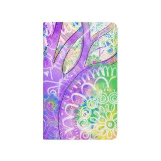 Magical forest mandala journal