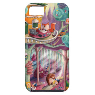 Magical Forest Tough iPhone 5 Case