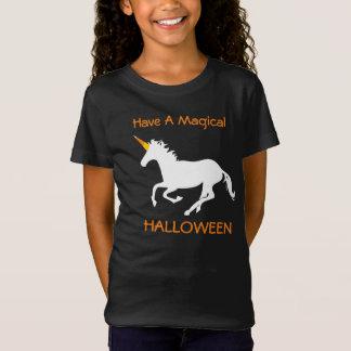 Magical Halloween Candy Corn Unicorn T-Shirt