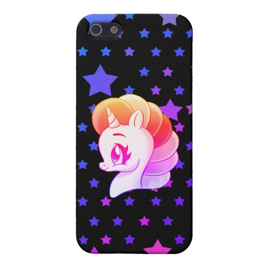 Magical Hand Drawn Unicorn iPhone 5/5S Slim Case