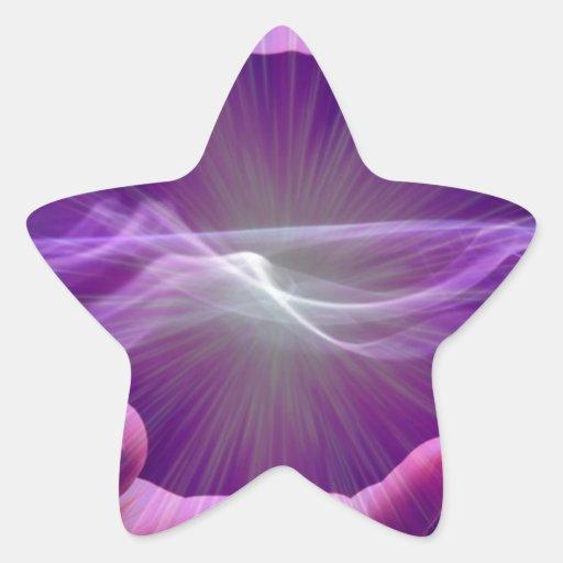 magical hands star sticker