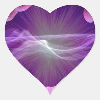 magical hands heart sticker
