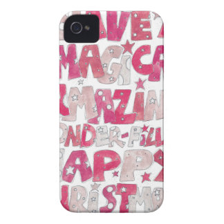 Magical Happy Christmas iPhone 4 Case-Mate Case