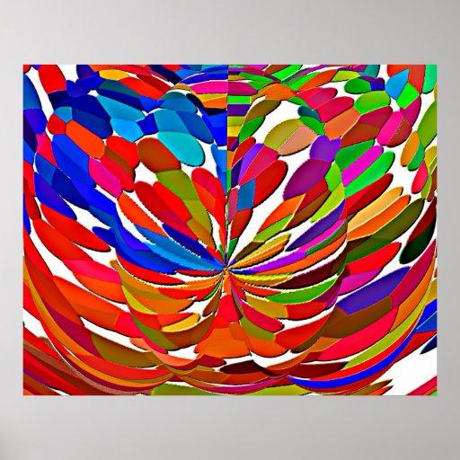 Magical High Energy Lotus Flower Pattern V1 Poster