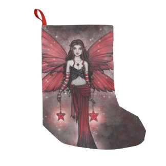 Magical Holiday Fairy Christmas Stocking