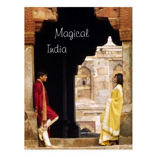 Magical India Postcard