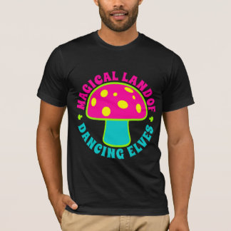 Magical Land Of Dancing Elves - Psychedelics, Neon T-Shirt