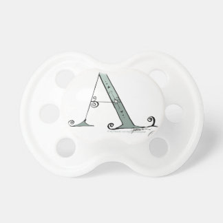 Magical Letter A from tony fernandes design Pacifiers