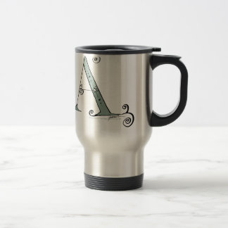 Magical Letter A from tony fernandes design Travel Mug