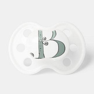 Magical Letter B from tony fernandes design Baby Pacifier