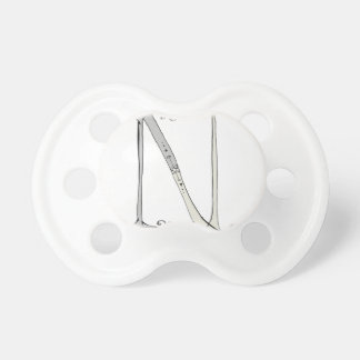 Magical Letter N from tony fernandes design Baby Pacifier
