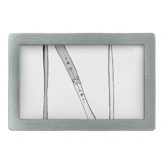 Magical Letter N from tony fernandes design Belt Buckles