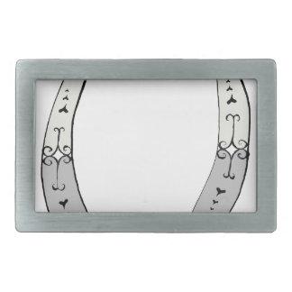 Magical Letter O from tony fernandes design Belt Buckles