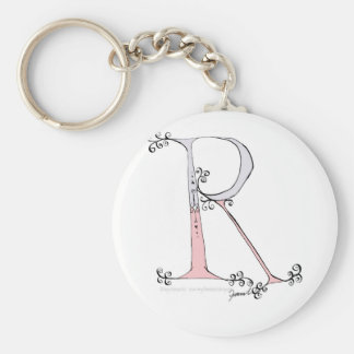 Magical Letter R from tony fernandes design Key Ring