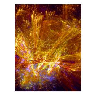 Magical Lights Post Card