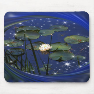 Magical Lily Pond Mouse Pad