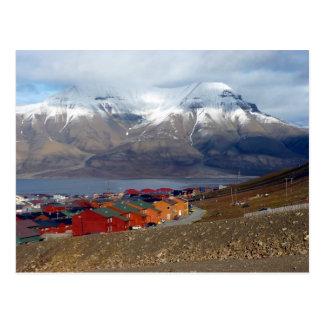 Magical Longyearbyen Svalbard Post Card